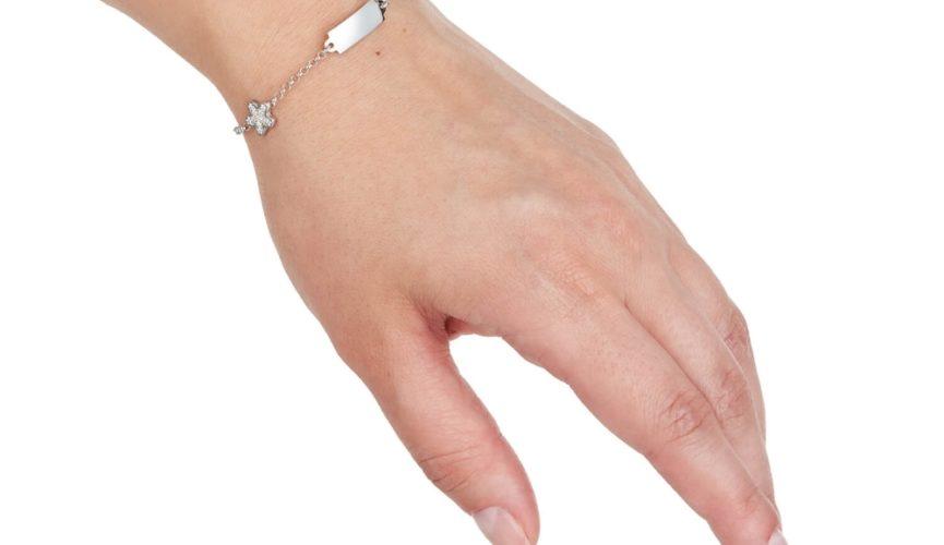 bransoletki srebrne damskie