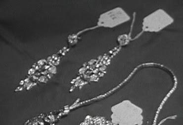 kolczyki ślubne z kryształkami swarovskiego