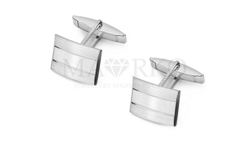srebrne spinki